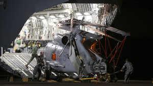 """سفينة صينية تنشل أجساماً من المحيط لم يتأكد كونها من """"الماليزية"""""""