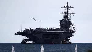 إيران: بنينا حاملة طائرات أمريكية لنتدرب على إغراقها بأقوى طوربيد في العالم