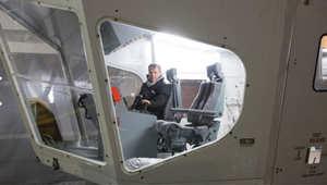 صورة للطائرة