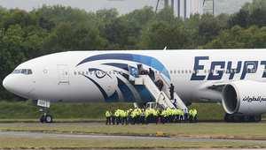 طائرة تابعة للخطوط المصرية