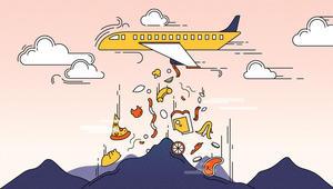 ملايين الأطنان من نفايات الطائرات.. ماذا يحصل بها؟