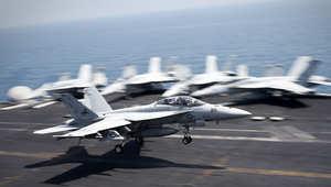 بدأت العمليات الجوية مطلع الشهر الجاري