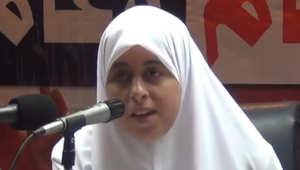 """ابنة خيرت الشاطر ترد على اتهامات دعمها لـ""""داعش"""" وقتل الجنود المصريين"""
