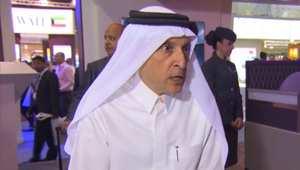 أكبر الباكر، الرئيس التنفيذي للطيران القطري