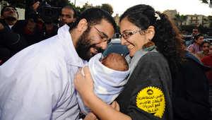 إخلاء سبيل علاء عبد الفتاح بكفالة