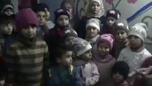 رسالة من أيتام حلب: أنقذونا.. نريد أن نعيش