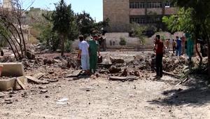 قصف أكبر مستشفى في حلب للمرة الثانية خلال 4 أيام