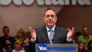 اسكتلندا.. الوزير الأول أليكس سالموند يعلن استقالته بعد هزيمته بمعركة الاستقلال