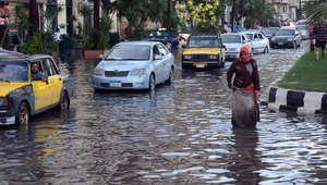 """الإسكندرية """"مدينة منكوبة"""" والسيسي يدعو الحكومة لاجتماع عاجل"""
