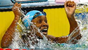 السمراء علياء تغيّر تاريخ السباحة والملولي يعزز مكانه كأفضل رياضي في تاريخ العرب