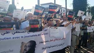 مغاربة يطالبون بإنقاذ صحافي من الموت بعد إضرابه عن الطعام بجنيف