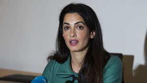 المحامية البريطاني من أصول لبنانية أمل علم الدين