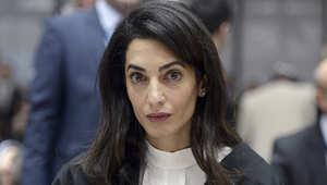 أمل كلوني، محامية الصحفي محمد فهمي