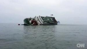 بالفيديو: وزنها يصل إلى 10 آلاف طن.. استعدادات لسحب عبّارة غارقة قتلت المئات قبالة سواحل كوريا الجنوبية