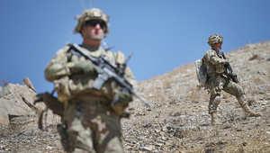 عنصران من القوات الأمريكية في أفغانستان
