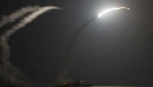 جانب من الغارات الجوية الأمريكية على أهداف داعش في سوريا