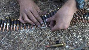 يستخدم تنظيم داعش ذخيرة مصدرها الولايات المتحدة الأمريكية ودول أخرى