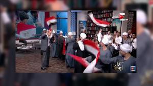 بالفيديو.. عمرو أديب يرقص على الهواء بعد فوز منتخب مصر على غانا