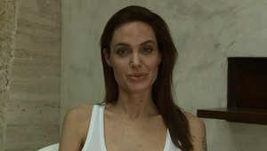 """بالفيديو.. انجيلينا جولي تعلن عن إصابتها بـ""""الجدري"""""""