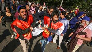 """إدانات واسعة لتفجيرات أنقرة تنضم إليها مصر و""""إخوان سوريا"""""""