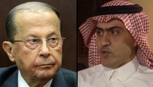 السبهان: رئيس لبنان لا يتوسط بين السعودية وإيران