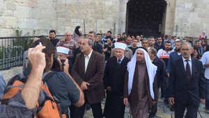"""سياسيون وإسلاميون بالقدس: قرار نتنياهو بإغلاق المسجد الأقصى يحول الصراع إلى """"حرب دينية"""""""