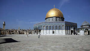 قبة الصخرة في مدينة القدس