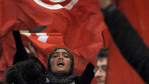 صورة أرشيفية لإحدى المظاهرات في تونس أوائل عام 2011