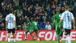 نيجيريا تكتسح الأرجنتين برباعية في مباراة غاب عنها ميسي