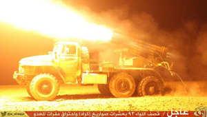ناشطون سوريون: داعش تقتحم مقر اللواء 93 للجيش بالرقة وعشرات القتلى بصفوف الجنود