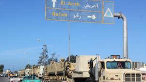 """مصر الآن.. الجيش يشن """"أكبر"""" عملية عسكرية لملاحقة مسلحي """"بيت المقدس"""" في مدن شمال سيناء"""