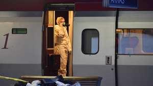 إصابة 3أشخاص إثر إطلاق نار في قطار بفرنسا