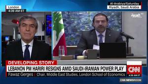 فوزا جرجس لـCNN: استقالة الحريري زلزال سياسي