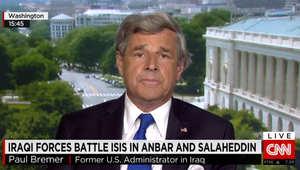 بول بريمير لـCNN: ما يجري بالعراق سببه سحب أوباما للقوات الأمريكية.. وعلينا القيام بـ3 خطوات لهزم داعش