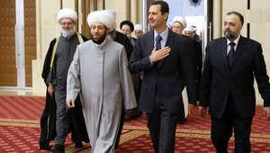 """الأسد: ملايين السوريين يحضنون الإرهاب وآل سعود """"فيروس"""".. والحضارة بنيت بدمشق وليس بمكة"""