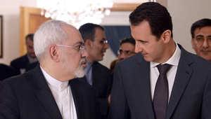 """ظريف يلتقي بالأسد لعرض """"المبادرة المعدلة"""".. تأكيد لاستمرار الدعم وتحذير للعالم من """"سرطان الإرهاب"""""""