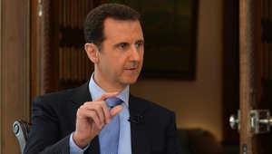 الأسد: أردوغان خطط لسلطنة إخوانية وإيران لم ترسل جيشا لدعمي.. الغرب وتركيا يدعمان جبهة النصرة وداعش