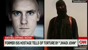 """رهينة سابق لدى داعش: محمد اموازي المعروف بـ""""الجهادي جون"""" دفعني لرقص التانغو معه قبل تهديدي بقطع أنفي بكماشة"""