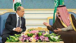 """بعد زيارة عون للسعودية.. السبهان: نقدر ظروف لبنان السابقة.. وهناك """"ارتياح"""" سعودي لبناني من سير المباحثات"""