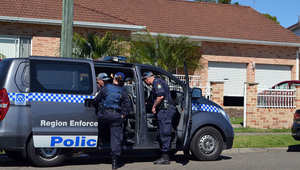 الشرطة الأسترالية تداهم أحد المنازل في حادثة سابقة
