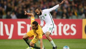السعودية تخسر أمام أستراليا وتصعب المهمة على نفسها في تصفيات المونديال