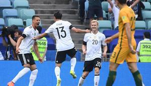 ألمانيا تهزم أستراليا بصعوبة في افتتاح مشوارها بكأس القارات
