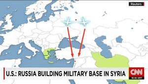 مصدر أمريكي لـCNN: رصدنا مقاتلات روسية تدخل سوريا بعد إغلاق أجهزة التعقب.. وموسكو بدأت طلعات بطائرات موجهة للمراقبة بمناطق لا يتواجد بها داعش