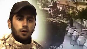"""كتائب """"عبدالله عزام"""" تعرض فيديو لتفجير سفارة إيران.. وتعد بالمزيد"""