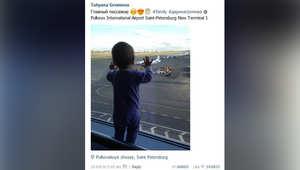 انتشار واسع لصورة طفلة هي إحدى أصغر ضحايا تحطم الطائرة الروسية في سيناء