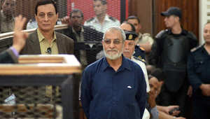 """مصر.. المؤبد لبديع و14 من قيادات الإخوان بأحداث """"البحر الأعظم"""""""
