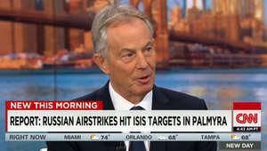 توني بلير لـCNN: هدف روسيا في سوريا واضح.. ولن يكون هناك مستقبل للبلاد إذا بقي بشار الأسد