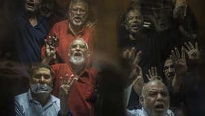 """مصر.. إلغاء مؤبد بديع بـ""""الإرشاد"""" وتنحية قاضي """"أوسيم"""""""