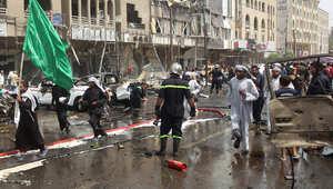 العراق.. 5 قتلى و17 جريحاً في هجوم انتحاري بسيارة مفخخة بضاحية للشيعة ببغداد