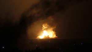 إسرائيل تنفذ 160 غارة على قطاع غزة وصواريخ فلسطينية لأول مرة باتجاه القدس وحيفا
